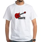 Guitar - Dante White T-Shirt