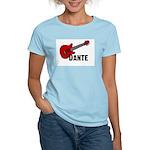 Guitar - Dante Women's Light T-Shirt