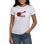 Guitar - Dante Women's T-Shirt