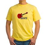 Guitar - Dante Yellow T-Shirt