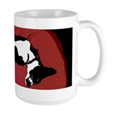 Black and White Dog Mug