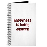 happiness is being Jayleen Journal