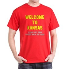 Welcome to Kansas T-Shirt