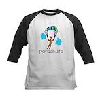 Kid Art Parachute Kids Baseball Jersey