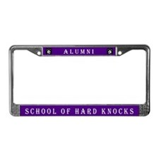 School of Hard Knocks #3 License Plate Frame