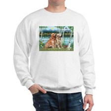 Birches / Golden Sweatshirt