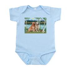 Birches / Golden Infant Bodysuit