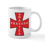 The Master Masons Maltese Cross Mug