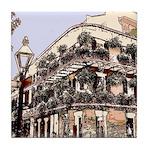 Royal Street Balcony Tile Coaster