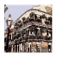 Royal Street Balcony Tile Coaster