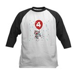Sock Monkey 4th Birthday Tee