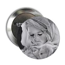 "Behold the Lamb 2.25"" Button (10 pack)"