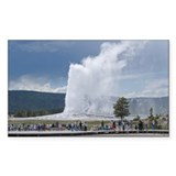 Yellowstone Faithful Rectangle Decal