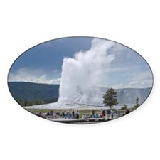 Yellowstone Faithful Oval Decal