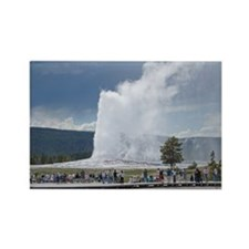 Yellowstone Faithful Rectangle Magnet