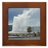 Yellowstone Faithful Framed Tile