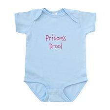 Princess Drool Infant Body Suit