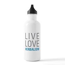 Herbalism Water Bottle