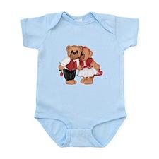BEARS IN LOVE Infant Bodysuit