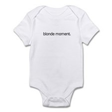 Blonde Moment Infant Bodysuit