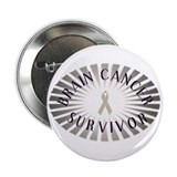 "BRAIN CANCER SURVIVOR 2.25"" Button (100 pack)"