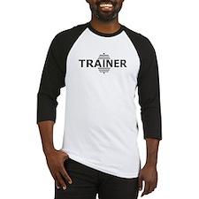 Power Trainer (Embossed Font) Baseball Jersey