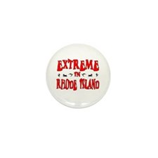 Extreme Rhode Island Mini Button (10 pack)