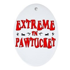 Extreme Pawtucket Oval Ornament