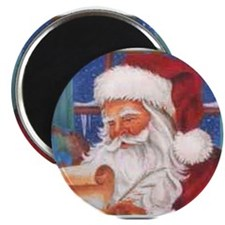 "Santa's List 2.25"" Magnet (100 pack)"