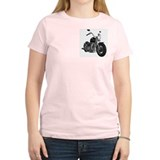 THIS BITCH DOESN'T FALL OFF! Women's Pink T-Shirt