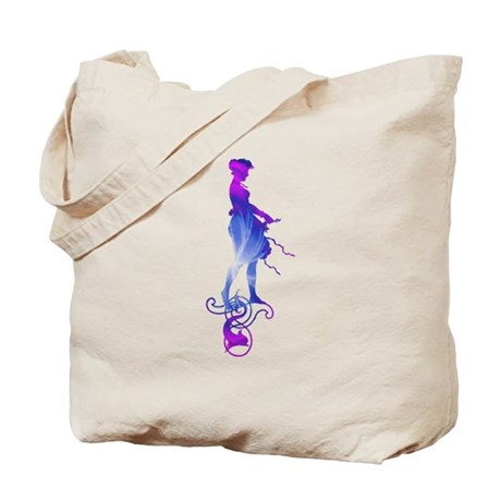 Rainbow Girl Tote Bag