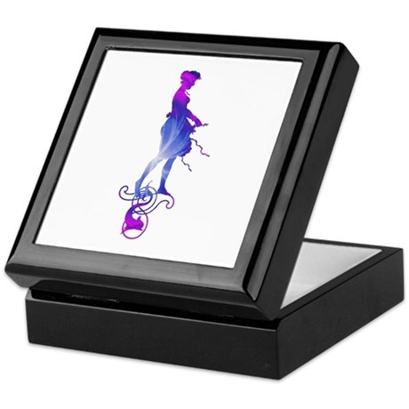 Rainbow Girl Keepsake Box