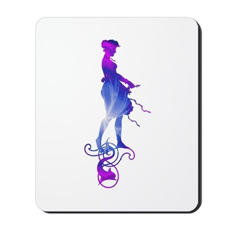 Rainbow Girl Mousepad