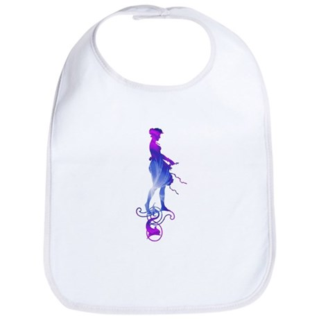 Rainbow Girl Bib