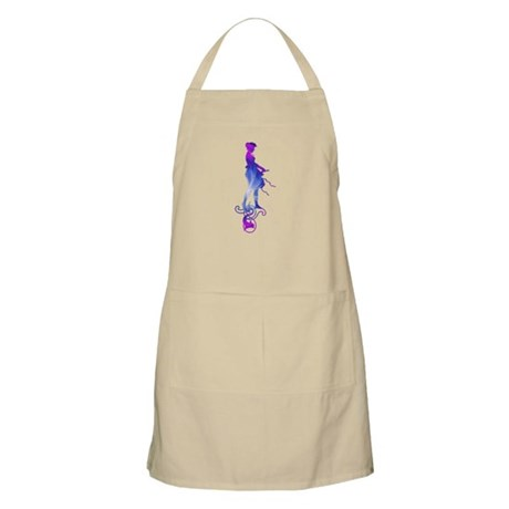 Rainbow Girl BBQ Apron