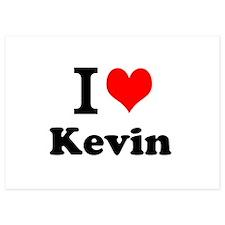 I Love Kevin Invitations