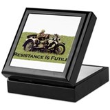 Resistance Is Futile Keepsake Box