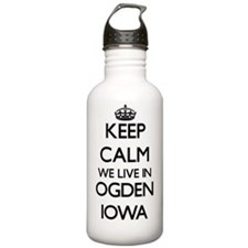 Keep calm we live in O Sports Water Bottle