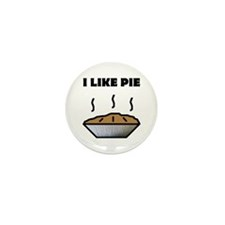 I Like Pie Mini Button (10 pack)