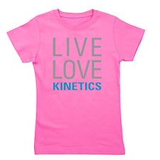 Live Love Kinetics Girl's Tee