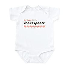 Love Shakespeare Pink Brown Infant Onesie Bodysuit