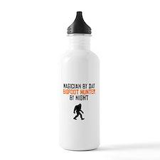 Magician By Day Bigfoot Hunter By Night Water Bott