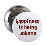 happiness is being Johana Button