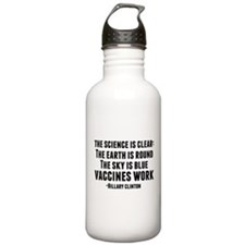 Vaccines Work Water Bottle
