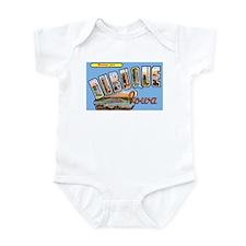 Dubuque Iowa Greetings Infant Bodysuit