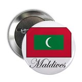Maldives - Flag - Maldive Isl Button