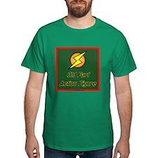 Old Fart Action Figure T-Shirt