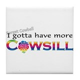 More Cowsill Color Logo Tile Coaster