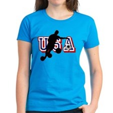USA Soccer Player Tee