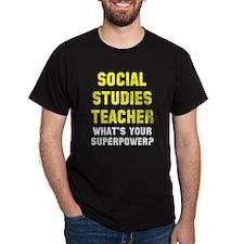 Social Studies Teacher T-Shirt